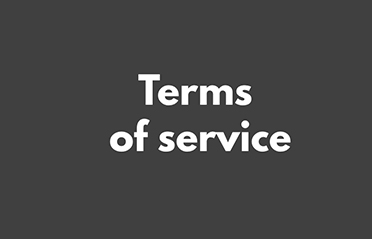 Terms of service