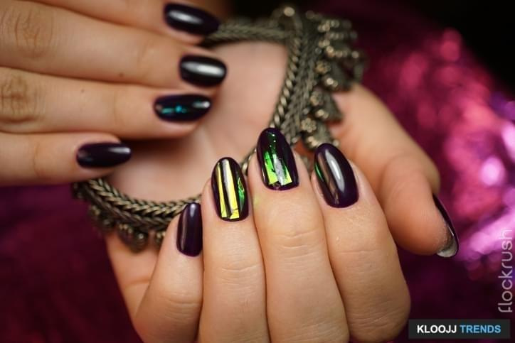 Awesome nails and beautiful clean manicure. Nails are natural. Manicure is made using nails drill machine.