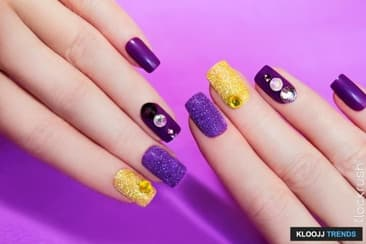 Amusing Manicure Styles That'll Make You Sparkle