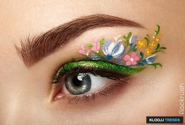 Floral Eyeliner Is Now A Reality, Pal!